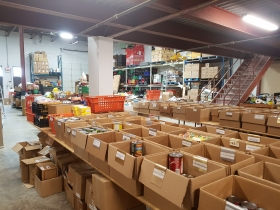 Food Bank Backroom #1